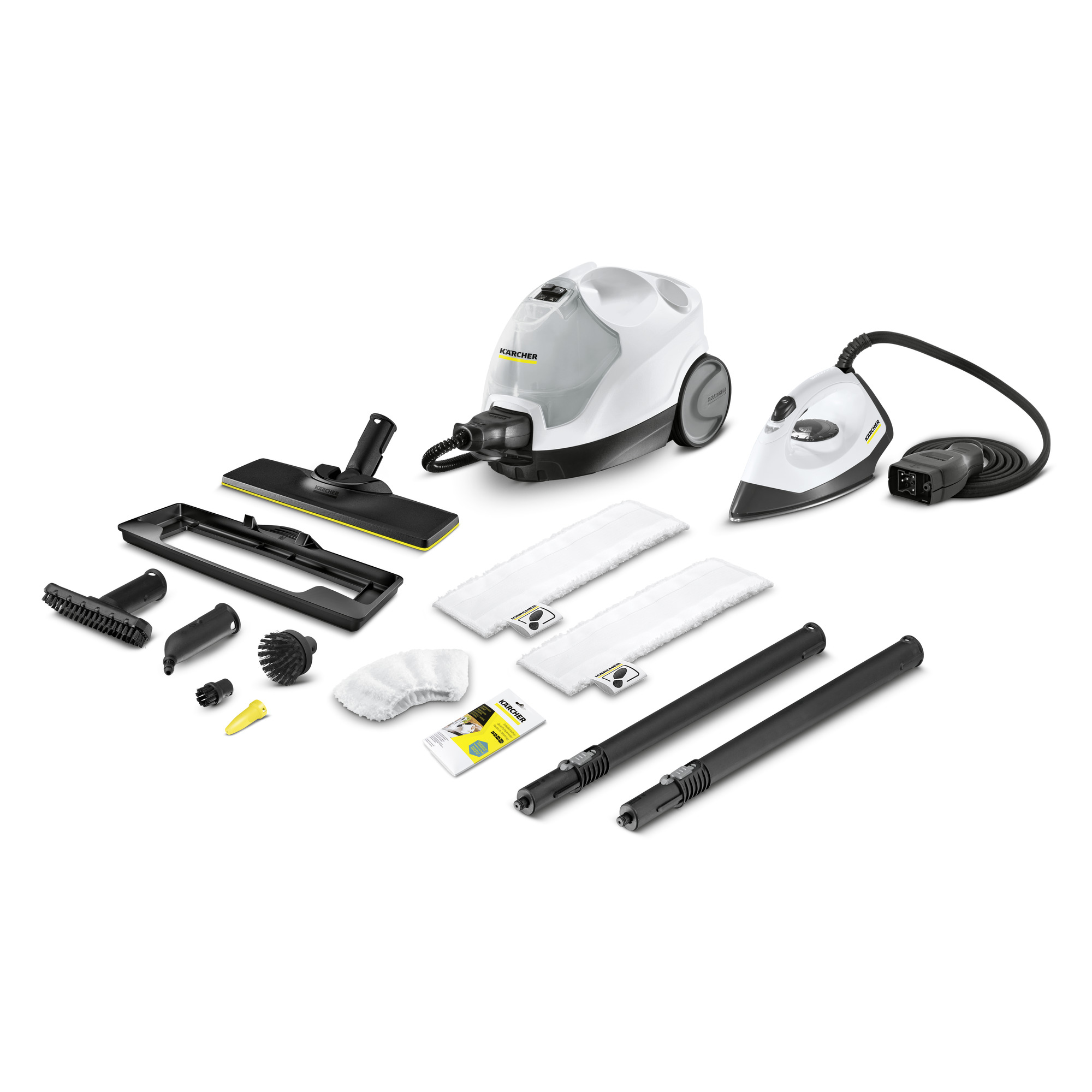 KARCHER SC 4 EASYFIX PREMIUM IRON KIT (WHITE)