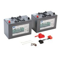 Set battery kit 76 Ah